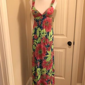 New Directions petite maxi dress NWT